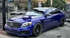 Mercedes Benz S Class W222 Full Black Bison Style Edition Body Kit Upgrade AMG