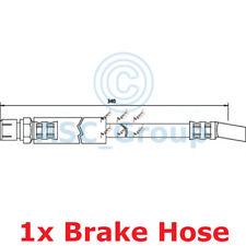 APEC BRAKING 340mm Scheibe Bremssattel flexibel GUMMISCHLAUCH hos3351