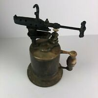 Antique Vintage Clayton & Lambert Brass Blow Torch - Detroit, Michigan