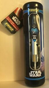 Firefly Star Wars Lightsaber Soft Toothbrush REY Gift Tin Stocking Stuffer