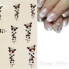 NailArt Sticker Schmetterling Aufkleber Nagelsticker Nageldesign TattooXf1429
