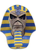 Halloween Iron Maiden Eddie Powerslave Cover Adult Latex Deluxe Mask Costume NEW