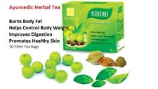 SIDDHI HERBAL 10 TEA BAGS FAT BURN WEIGHT LOSS 100% NATURAL CERTIFIED