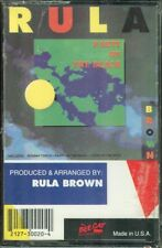 RULA BROWN Party On The Beach TAPE Reggae Dancehall 1990 Bee Cat
