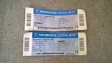 2 Match Tickets for Portsmouth FC v Mansfield Town & Shrewsbury Town (Div 2).