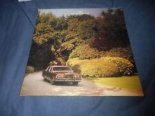 1986 Lincoln Continental Town Car Color Sales BrochureCatalog Prospekt