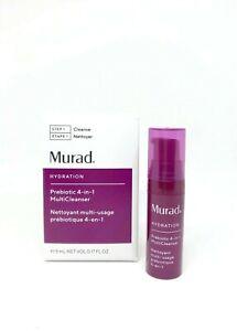 Murad Prebiotic 3 in 1 Cleanser 0.17oz / 5ml New in Box FRESHEST ON EBAY