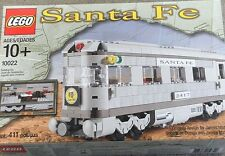 LEGO Train #10022 Santa Fe Cars Set II Dining,Observation or Sleeping Car SEALED