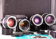 Gemstone Classic 6X6 120-220 Rolleiflex SL66 Zeiss 50mm 80mm 150mm 250mm EXC