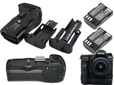 Vertical Battery Grip Pack as D-BG5 for Pentax K3 K-3 + 2x D-Li90 Battery Kit