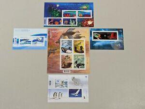 Stamp Pickers Canada Modern Souvenir Sheets Lot x 5 MNH Wildlife Sealife #4
