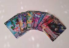 Dragon Ball Super Card Game lote 13 cartas raras R