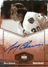 04-05 ud legendary signatures gerry cheevers boston bruins autograph auto