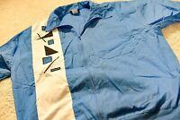 Vintage John Blair Zip Up Shirt 80s XL