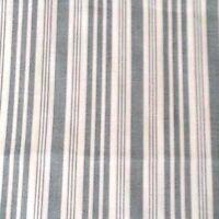 Schumacher Fabric Blue Gray Stripe On White Style 175432