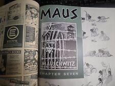 RAW number Eight 8 comic GN MAUS Art Spiegelman Ch 7 insert intact Jimbo 1986