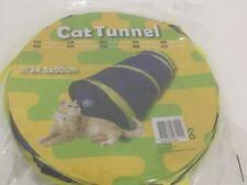 Chat Chaton Jeu Tunnel avec balle 50 Cm Complément Arbre À Chat