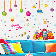 1PC Removable Merry Christmas Room Vinyl Window Wall Stickers Decal Home Decor