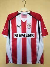 FC OLYMPIAKOS 200506 GREECE FOOTBALL JERSEY CAMISETA SOCCER SHIRT VINTAGE BOYS