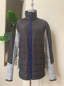[ CRANE ] Snow Extreme Ladies Jacket | Grey | Blue Zip Front | Size M