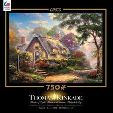 CEACO THOMAS KINKADE SPECIAL EDITION METALLIC PUZZLE LOVELIGHT COTTAGE 750 PCS
