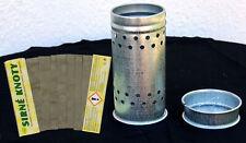 Schwefeldose Set mit 400 g Schwefelschnitten Streifen Imker Wachsmotte Bienen