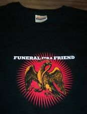 FUNERAL FOR A FRIEND EAGLE SNAKE Hardcore Band T-Shirt 2005 XL NEW
