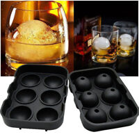 Silicone Ice Balls Maker Round Sphere Tray Mold Cube Whiskey Ball Cocktails