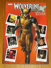 WOLVERINE WEAPON X FILES DEADPOOL GAMBIT SABRETOOTH MARVEL GN 9780785142409