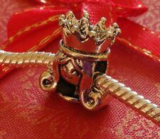 Charm Princess Bead Charms Fits European Charm Bracelets CH120