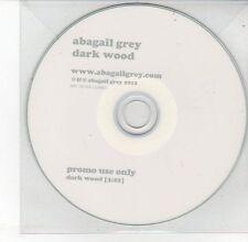 (DV645) Abagail Grey, Dark Wood - 2012 DJ CD