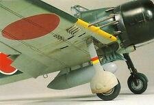 IJN MITSUBISHI A6M ZERO Fighter Kit Reference Book MINT Vintage Model Art 518