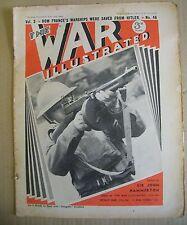 The War Illustrated Magazine. Vol. 3. No. 46. July 19th, 1940. John Hammerton.