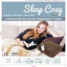 Warmfront Tanquility  Electric Heated Over Blanket / Throw / Family Size Blanket
