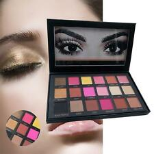 Rose Gold Textured Eyeshadow 18 Colors Matte Eye Shadow Palette Cosmetics GA