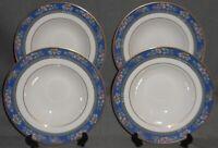 Set (4) 1993 Royal Doulton Bone China AUSTIN PATTERN Soup Bowls ENGLAND