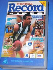 1993 Football Record Video AFL Footy VHS 60 Min Issue 2 Volume 1 Round 1 - 7