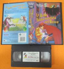 VHS film LA LA BELLA ADDORMENTATA NEL BOSCO 1988 WALT DISNEY 4241 (F42**) no dvd