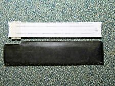 Vintage PICKETT Microline 125 Slide Rule w/ Case