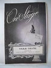 THE CARETAKER Playbill ALAN BATES / ROBERT SHAW / DONALD PLEASENCE Tryout 1961