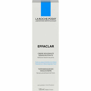 LA ROCHE-POSAY EFFACLAR DEEP CLEANING FOAMING CREAM 4.2 FL OZ exp 05/21+