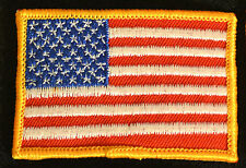 """B7240  US FLAG PATCH  2"""" x 3""""  FREE SHIPPING !"""