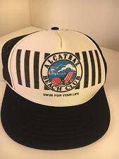 Alcatraz BEACH  Club Hat Cap  SWIM FOR YOUR LIFE