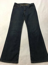 Ralph Lauren Polo Womens 10 Kelly Denim Blue Jeans Boot Cut