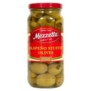 Mezzetta Jalapeno Stuffed Olives