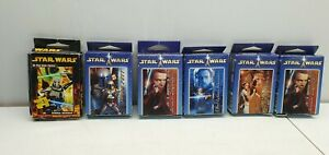 Star Wars clone wars force mini puzzle lot 50 pieces Hasbro 2002 Skywalker plus