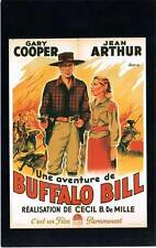 FICHE DE L'AFFICHE : UNE AVENTURE DE BUFFALO BILL - Cooper 1936 The Plainsman