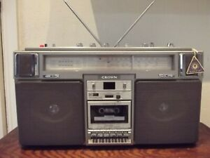 Crown CSC-960 L Vintage Ghetto Blaster Boombox