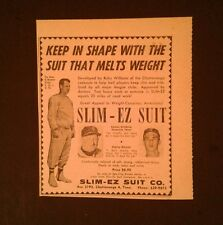1965 Harmon Killebrew~Twins Baseball Slim EZ Suit Sports Memorabilia Promo AD