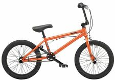"Rooster Hardcore 9.5"" Frame 18"" Wheel Boys BMX Bike Metallic Orange"